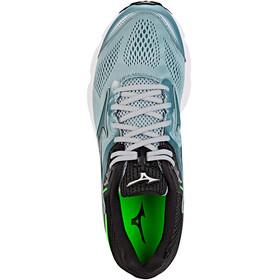 Mizuno Wave Inspire 15 - Zapatillas running Hombre - gris/verde